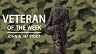 Veteran of the Week